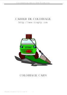 Cars Coloriage De Cars A Imprimer Toupty Com