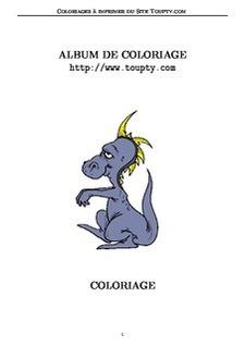 Dragon Coloriage A Imprimer De Dragons Coloriages Gratuits Toupty Com
