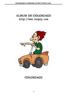 Coloriage Clown Voiture.Coloriages De Clowns A Imprimer