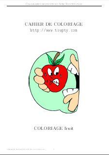 Coloriage Maternelle Fruits Et Legumes.Fruit Legume Coloriage De Fruits Legumes A Imprimer