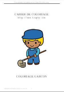 Coloriage Garcon 24 Coloriages A Imprimer Pour Garcons