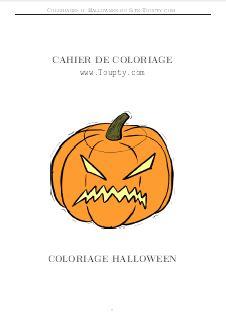 Halloween Coloriage En Ligne Pour La Fete D Halloween Toupty Com