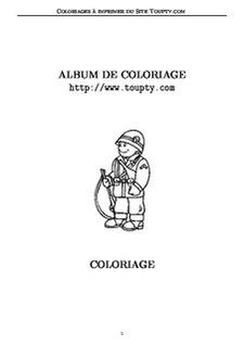 Coloriages De Dessins De Soldats
