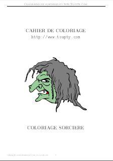 Sorciere coloriage de sorcieres a imprimer gratuitement - Image de sorciere a imprimer ...