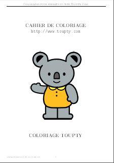 Coloriages Pour Les Tout Petits A Imprimer Pdf Toupty Com