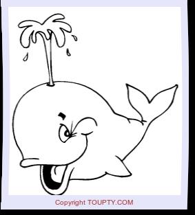 Poisson dessins de poissons imprimer et colorier - Requin baleine coloriage ...