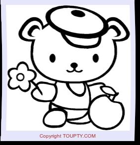 Coloriage Toupty Coloriages Gratuits Pour Enfants