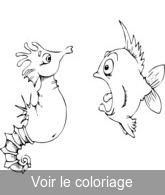 animaux de la mer coloriage animaux a imprimer toupty com