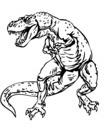 Coloriage Dinosaure Carnivore.Dinosaure Coloriage De Dinosaures A Imprimer Toupty