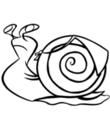 Escargot Coloriage A Imprimer D Escargots Toupty Com