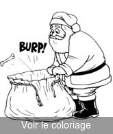Pere Noel Coloriage De Père Noël à Imprimer Toupty Com