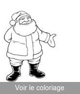 Pere Noel Coloriage De Père Noël à Imprimer Touptycom