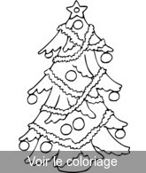 Sapin De Noel Coloriage De Sapins Noël à Imprimer Toupty Com
