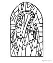 Coloriage vitrail gratuit 24 vitraux colorier - Vitraux a colorier ...
