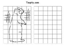 Dessiner en ligne - Dessiner une marmotte ...