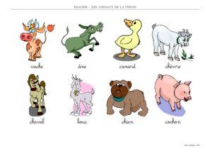 Animaux de la ferme dessin couleur - Animaux a imprimer en couleur ...