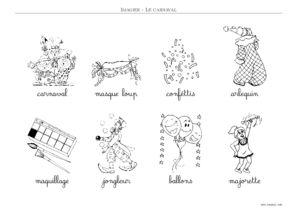 CARNAVAL - Imagier Carnaval Maternelle A Imprimer- Toupty.com 6567471a049e
