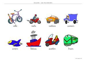 Imagier Les Transports Imagier Gratuit A Imprimer Toupty Com
