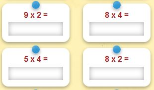 Apprendre les tables de multiplication exercices interactifs - Apprendre les tables de multiplication ce1 ...
